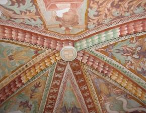 +Šilentabor, strop prezbiterija