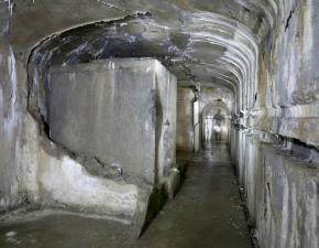 Notranjost utrdbe Alpskega zidu na Primožu
