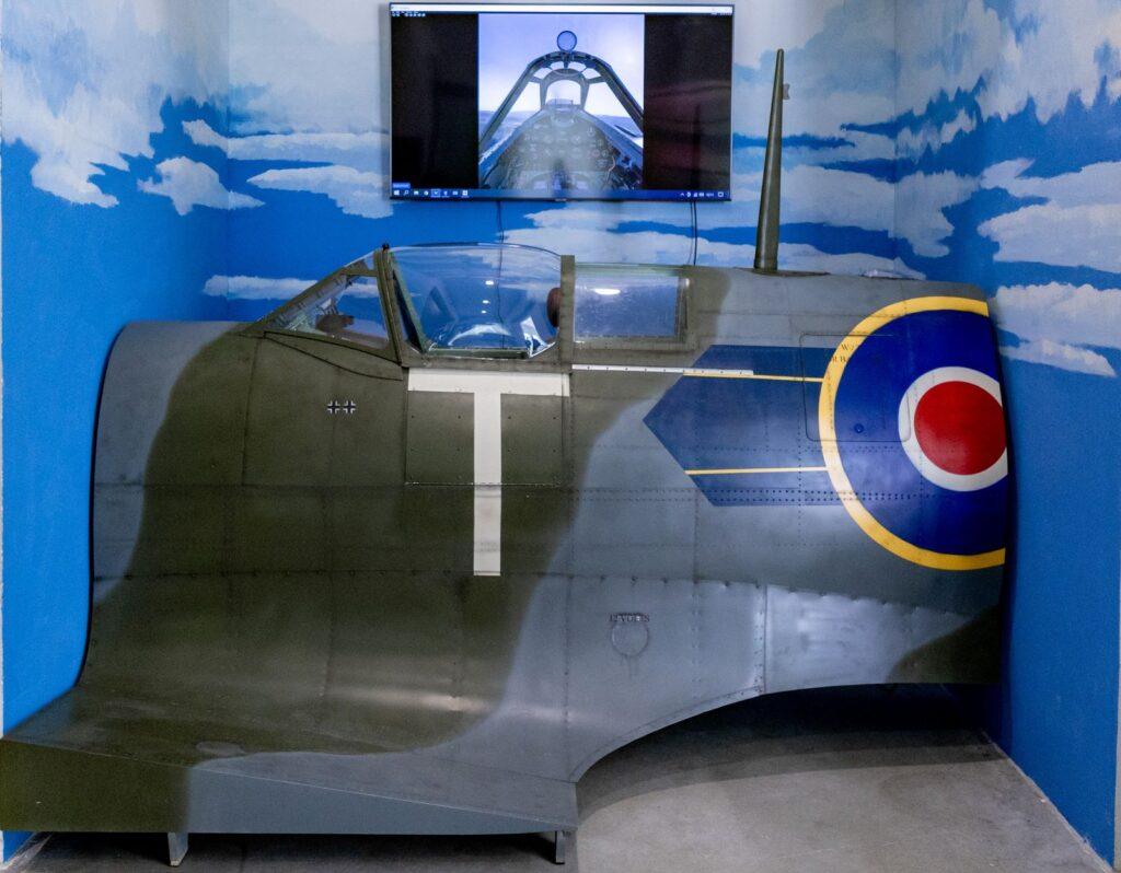 Simulator letenja Spitfire iX podjetja AFormX