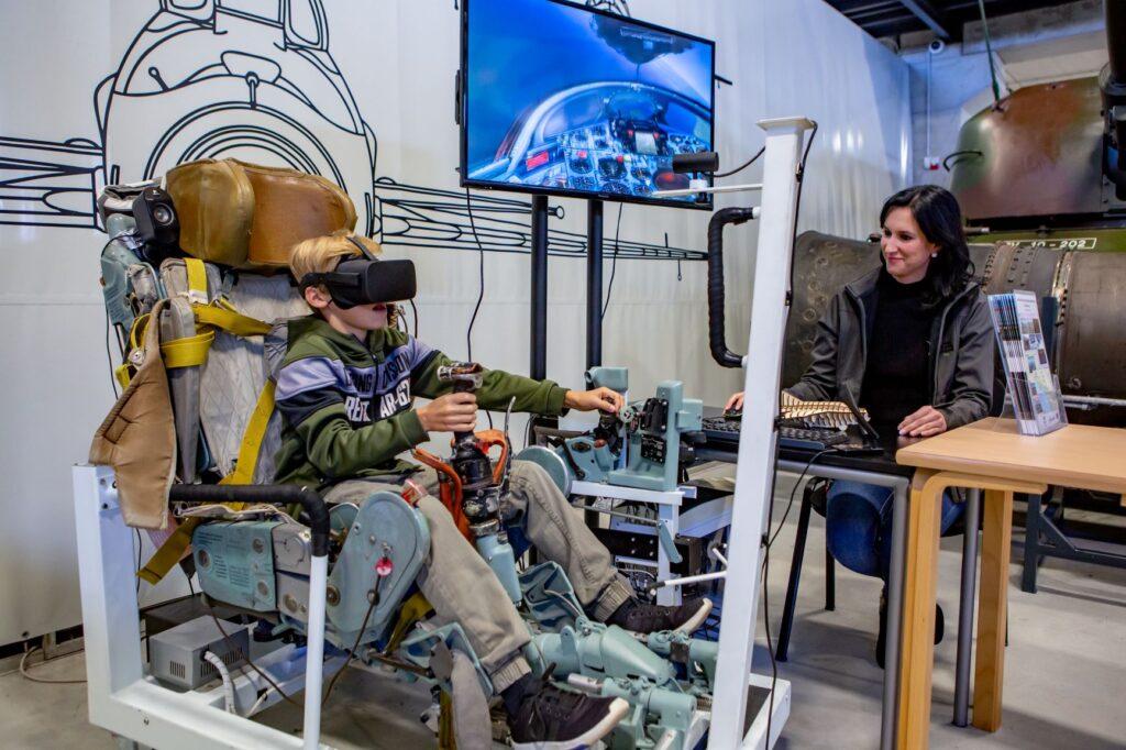 Simulator letenja z letalom MiG-21